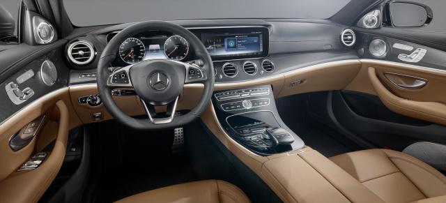 Vorschau: So schick wird die neue Mercedes-Benz E-Klasse 2016 ...