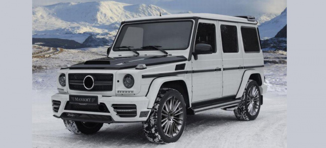 neu in genf zubeh r programm von mansory f r mercedes g. Black Bedroom Furniture Sets. Home Design Ideas