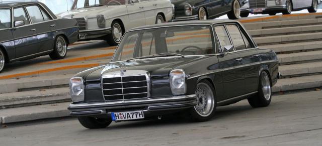 Mercedes Citan Tuning >> Heilig's Blechle! Restaurierter 1971er Mercedes Benz /8 : Mercedes Youngtimer mit ...