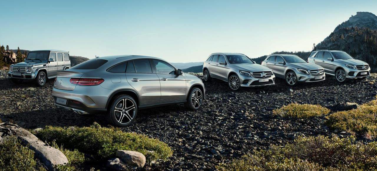 Pr offensive f r suv mercedes benz startet prominent for Mercedes benz tagline