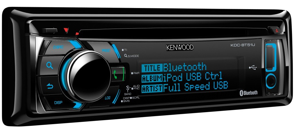 kenwood bt51u cd autoradio mit bluetooth. Black Bedroom Furniture Sets. Home Design Ideas