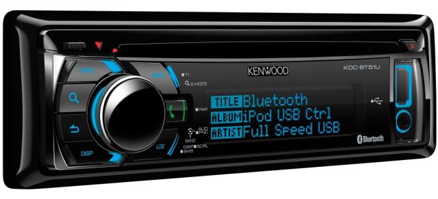 kenwood bt51u cd autoradio mit bluetooth. Black Bedroom Furniture Sets. Home Design Ideas
