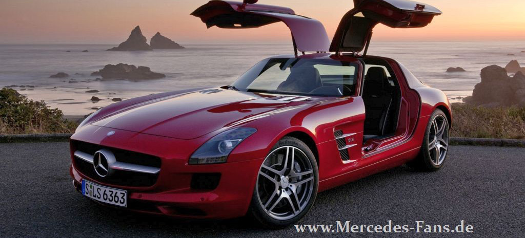 mercedes benz sls amg tr umen erlaubt fahrpr sentation des neuen mercedes traumwagen in. Black Bedroom Furniture Sets. Home Design Ideas