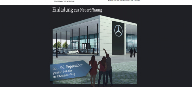 5 6 september m nster beresa er ffnet autohaus der zukunft news mercedes fans das. Black Bedroom Furniture Sets. Home Design Ideas