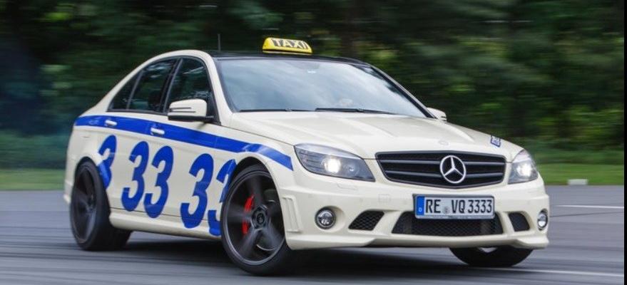 das schnellste taxi deutschlands mercedes c63 amg mit 660. Black Bedroom Furniture Sets. Home Design Ideas