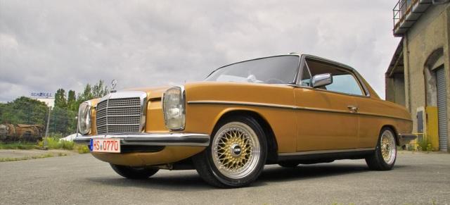 oldie goldie mercedes 280 ce w114 72er strich acht als automobiles schmuckst ck auto der. Black Bedroom Furniture Sets. Home Design Ideas