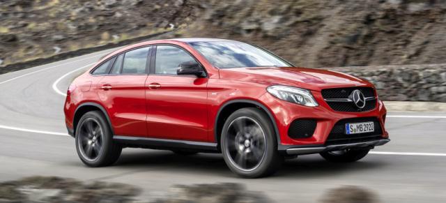 Mercedes-Benz SUV in fünf Klassen Sieger: G, GLA, GLK und GLE Coupé sind beste Off-Roader - News ...