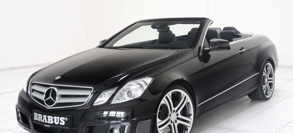 brabus programm f r das neue mercedes e klasse cabrio mit brabus wird die faszination fahren in. Black Bedroom Furniture Sets. Home Design Ideas