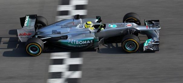 Test Mercedes W03: 2. Tag: Nico Rosbergs erste Eindrücke vom neuen ...