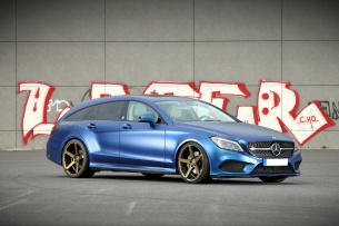 Mercedes-Benz CLS 350 cdi Blue Tec Shooting Brake: Blue Beauty im Redaktionsdienst