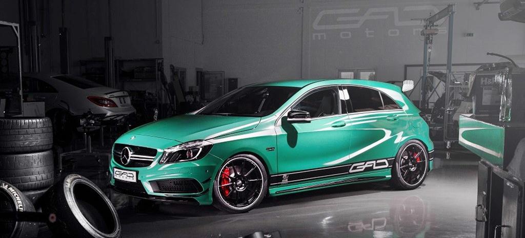 Mercedes Gls Amg >> Grün und kühn: GAD pusht Mercedes A45 AMG auf 427 PS: Das ...