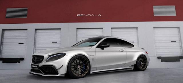Mercedes-AMG C63 Tuning: Black Series Spirit: Bengala Design