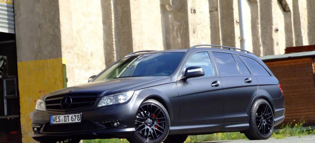 C Klasse Schwarz Veredelt Mercedes Tuning Aus Dem FFF