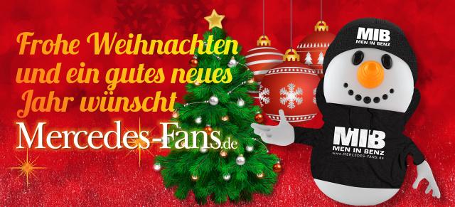 Frohe Weihnachten Wann Wünscht Man.Das Mercedes Fans Weihnachts Special 2016 17 Mercedes Fans Wünscht