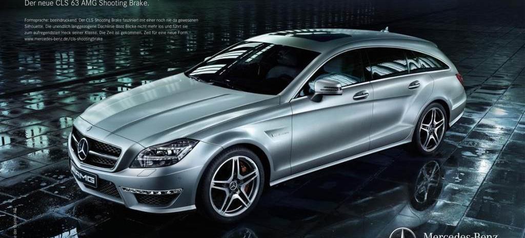 Mercedes Benz Gls >> Zeit für eine neue Form Werbekampagne für CLS Shooting Brake startet: Der neue CLS Shooting ...