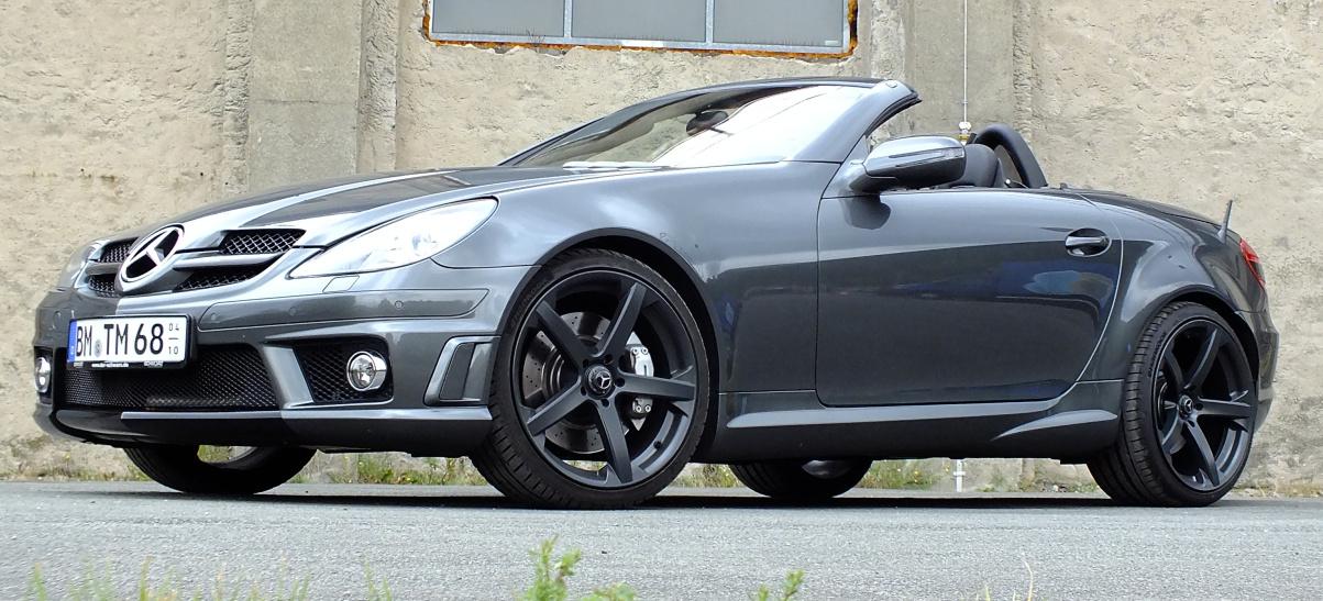 Frischer Wind für die Straße: Mercedes SLK 55 AMG (R171 ...