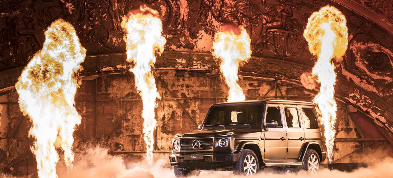 NAIAS 2018: Mercedes-Benz G-Klasse Premiere: Debüt in Detroit ...