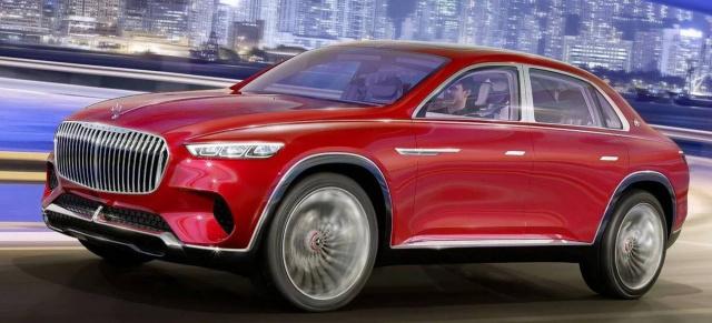 vision mercedes-maybach ultimate luxury: durchgesickert: erste