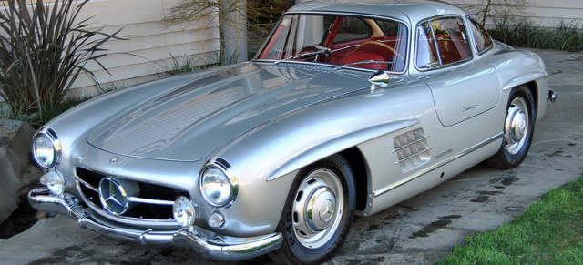 1 hand und nur meilen 1954 mercedes benz 300 sl. Black Bedroom Furniture Sets. Home Design Ideas