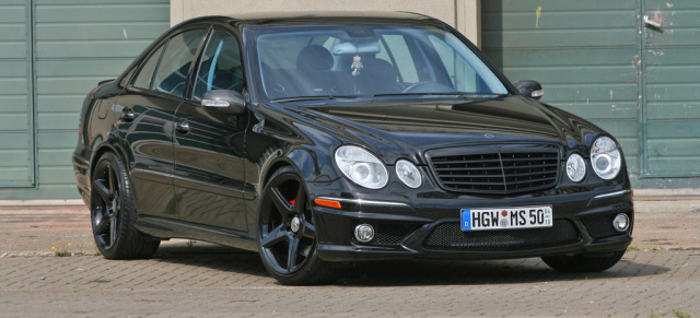Do it yourself! Mercedes E-Klasse Typ W211 im E63 AMG-Look: Mercedes Tuning im OEM-Look: Wie man aus einem E500 einen E63 AMG zaubert
