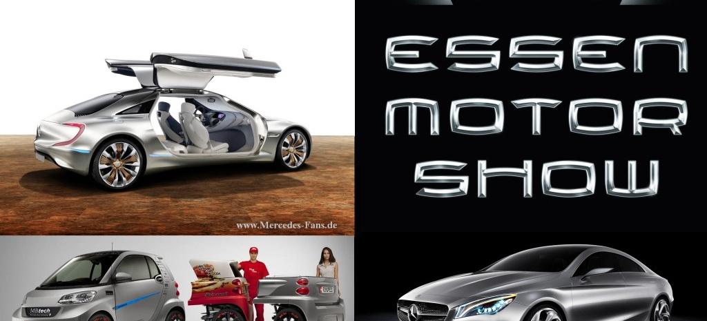 Essen motor show design studien von mercedes benz co for Mercedes benz of littleton colorado