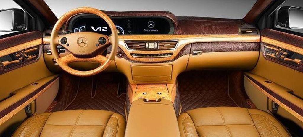 Leder Amp Luxus Mercedes S600 Guard Extrem Veredelt Au 223 En