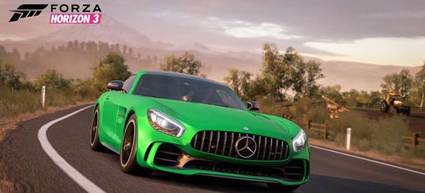 Forza Horizon 3 Erweiterung Mercedes Amg Gt R Ist Dabei
