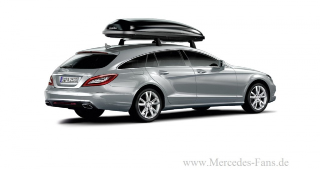Extra edel wurst original zubeh r f r mercedes benz cls for Mercedes benz roof box 400