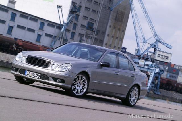 Diesel Mit Dynamik Mercedes Benz E270 Cdi W211 2004er