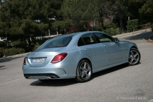 Amg Optik Mercedes Benz C250 Im Fahrbericht Mercedes