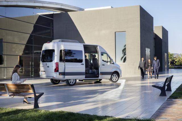 Mercedes Benz Sprinter Tonnage