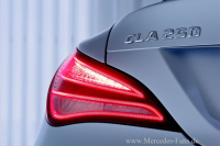 Mercedes cla ausstattungslinien und modellprogramm das for Exterieur licht und sichtpaket