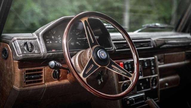 Mercedes-Benz G-Klasse W463: Top-Interieur im Retrolook: Tuner ...