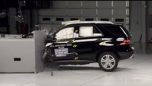 Mercedes G Klasse Crash Test