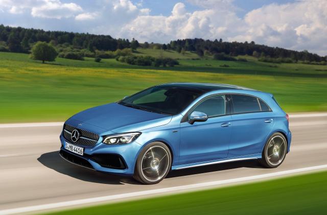 Mercedes Benz Modelloffensive Neue Kompakte Von Mercedes
