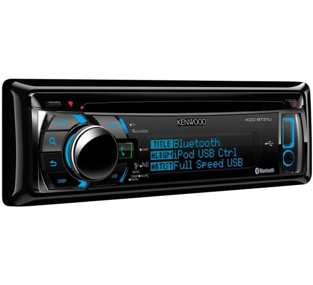 Kenwood BT51U - CD Autoradio mit Bluetooth Freisprecheinrichtung ...