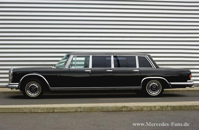 luxus limousine mit extras 1973 mercedes benz 600 pullman. Black Bedroom Furniture Sets. Home Design Ideas