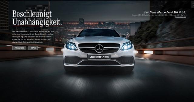Webspecial Mercedes Amg C63 2015 Die Neue Generation Der