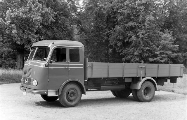 Vor 60 jahren mercedes lp 315 der erste frontlenker ab for Mercedes benz germany careers