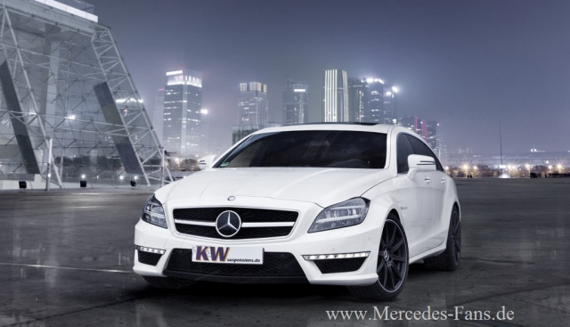 Neu Von Kw Gewindefedern Für Mercedes Benz Cls 63 Amg Shooting