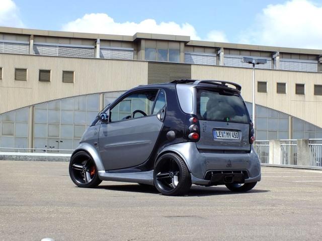 Kleines Auto große Wirkung Smart 450 2005er Fortwo