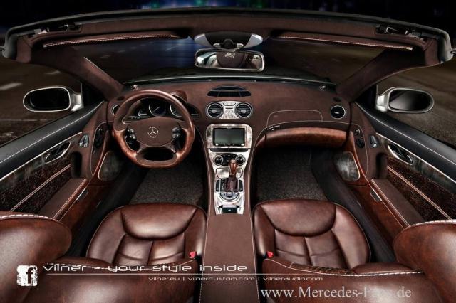 Armes schnappi vilner stattet mercedes sl mit krokoleder aus braucht das jemand oder kann das for What car has the best interior