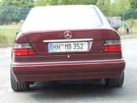 Mercedes W Durchdrehen