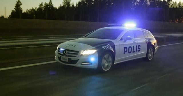 Finnische Polizei