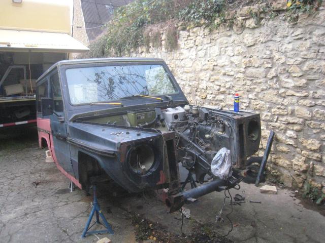 Auf G Baut Restauration Eines Mercedes G Baujahr 1980