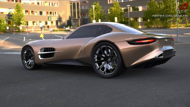 Mercedes von morgen: Visionär: Renderings von einem kommenden ...