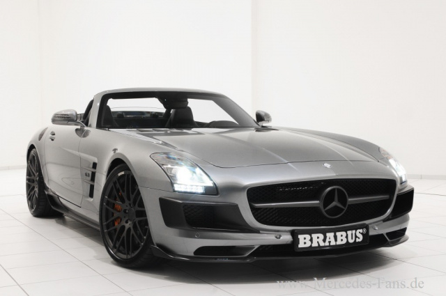 sls amg roadster mit performance plus brabus macht den. Black Bedroom Furniture Sets. Home Design Ideas