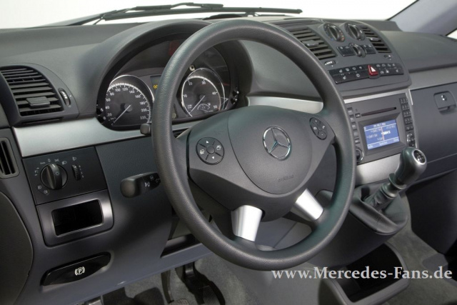 Mercedes Vans: Geschwisterpaar Vito und Viano aufgefrischt: Facelift ...