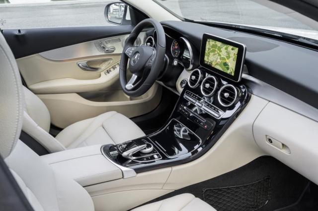 Die neue mercedes benz c klasse modell und for Artico interieur