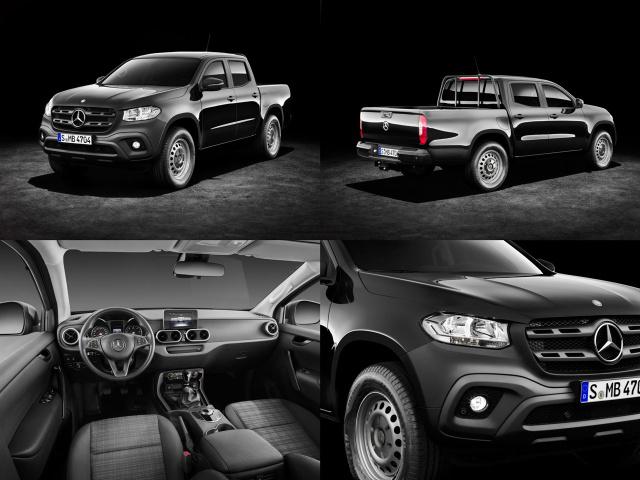 mercedes benz x klasse die ausstattungsvarianten drei f r einen der mercedes benz pickup. Black Bedroom Furniture Sets. Home Design Ideas